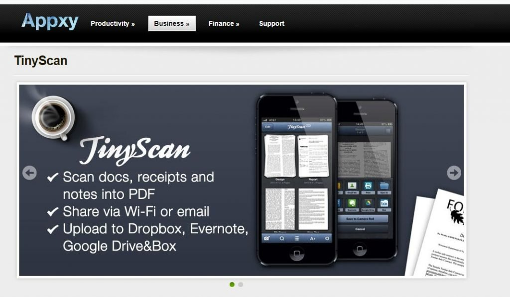 TinyScan - Document Scanner App