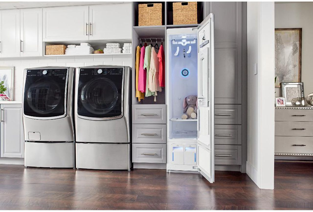 LG's Self-cleaning Closet