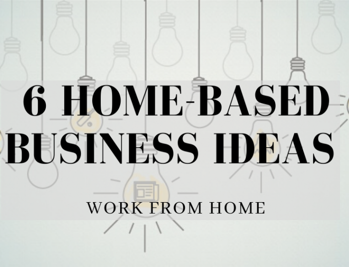Work From Home Business Ideas in 2020