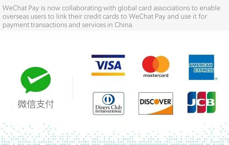 how to add your debit or credit card to the WeChat Pay wallet