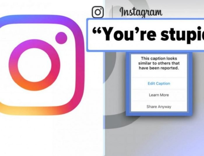 Instagram Caption Warning Feature