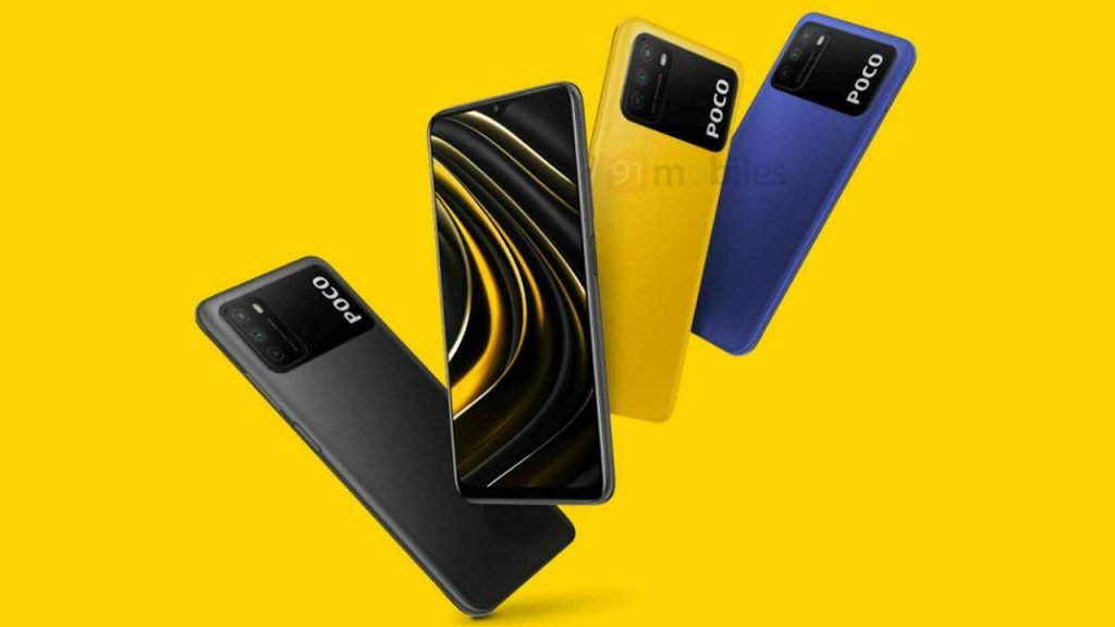 Xiaomi Poco M3 Smartphone   Description automatically generated