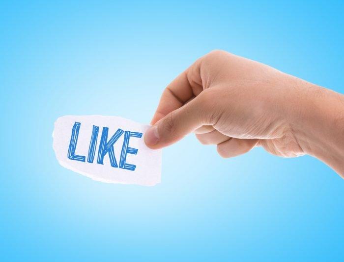 A Facebook Like